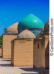 ouzbékistan, necropolis, shah-i-zinda, samarkand