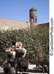 ouzbékistan, paysage, typique