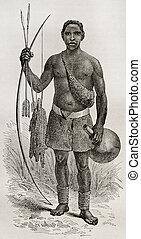 ouzinza, indigène