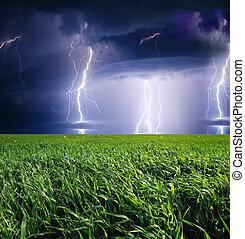 oväder