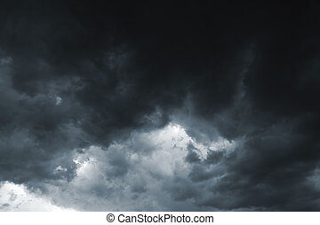 oväder himmel