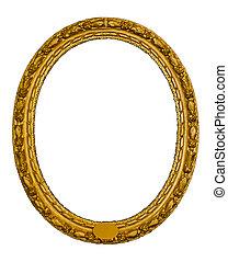 oval antique frame