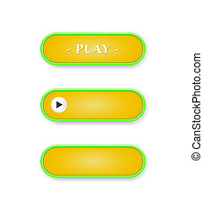 oval button template