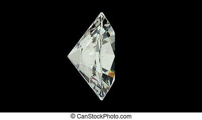 Oval Cut Diamond - Oval cut diamond with alpha channel...