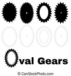 oval gears