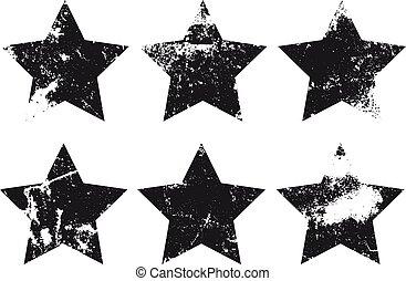 Oval Grunge Label. Retro Frames for Emblems . Vector Vintage Stamp.