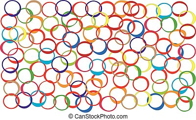 Ovals in colors