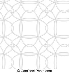 Ovals seamless vector pattern.
