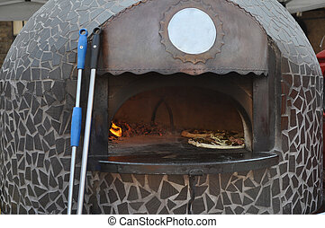 Oven for pizza