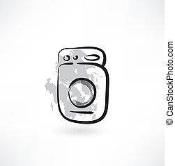 oven grunge icon