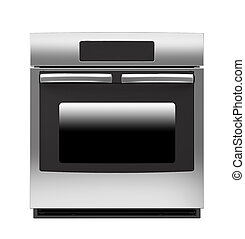 Oven isolated on white