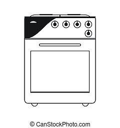 oven stove icon