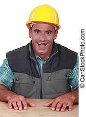 Over excited builder