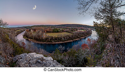 Over Look - Overlooking the White River and Ozark Mountains ...