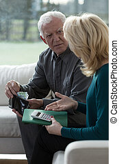Overcoming financial difficulties