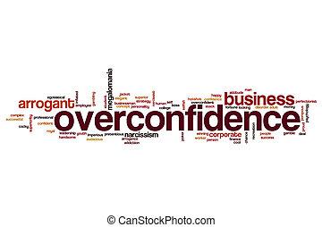 Overconfidence word cloud