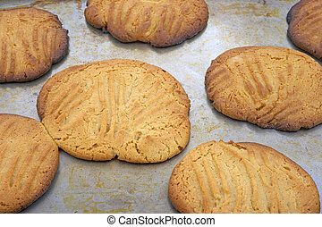 overdone, beurre arachide, biscuits