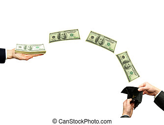 overdracht financiert