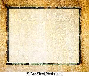 overdracht, polaroid, grens, foto