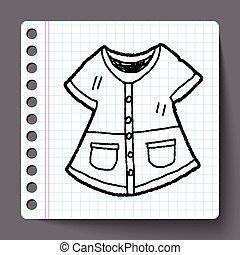 overfrakke, doodle