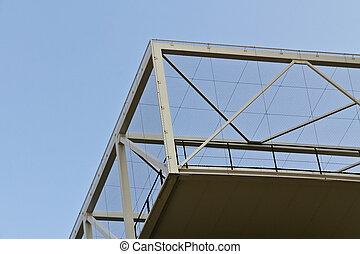 Overhang terrace