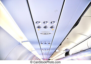 Overhead console in aircraft