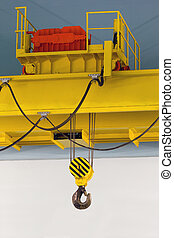 Electrically driven heavy duty overhead crane