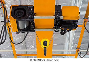 Overhead Crane Factory - Overhead crane and hook inside...