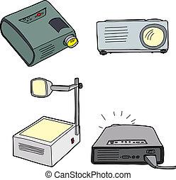 Overhead Projectors - Various overhead and digital...