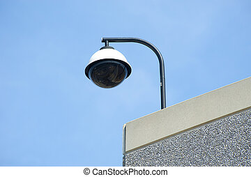 Overhead security camera