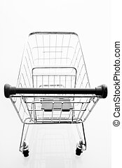 Overhead View Of Shopping Cart