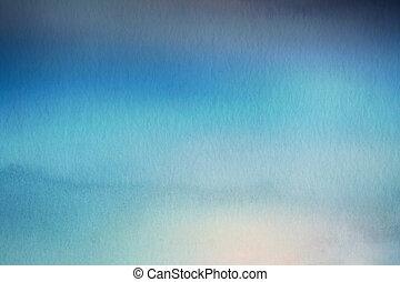 overlay., natur, abstrakt, vattenfärg, bakgrund., papper, fläck
