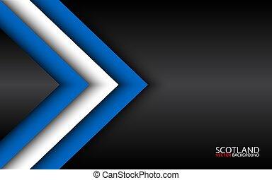 overlayed, gratuite, écossais, moderne, ecosse, regard, résumé, fond, couleurs, drapeau, widescreen, gris, feuilles, ton, texte, espace, vecteur, flèches, papier, fait