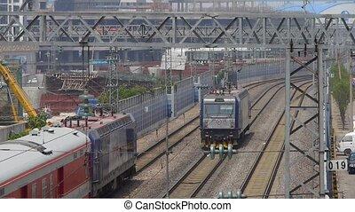 overlook locomotive fast passing &