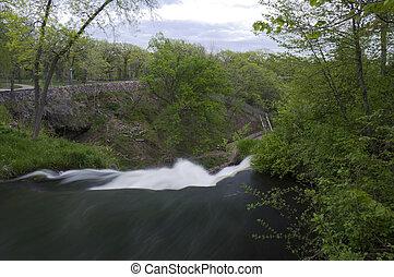 Overlooking Minnehaha Falls