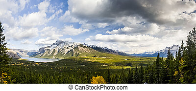 Overlooking the Bow Valley, Banff