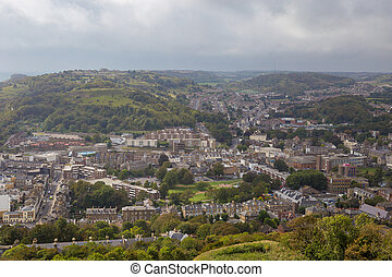 Overlooking the Town of Dover - View overlooking the town of...