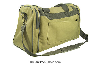 Overnight Carry On Luggage - Isolated view of...