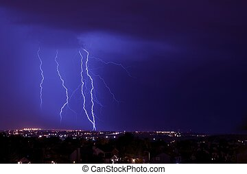 Overnight Lightning Storm