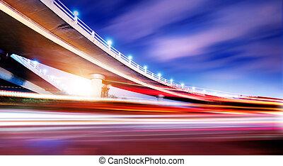 overpass, noturna