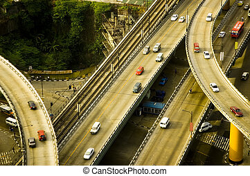overpass route