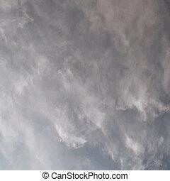 overskyet himmel