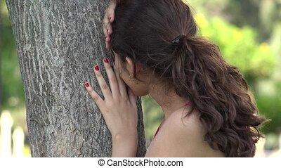 overstressed, femme, inquiétude