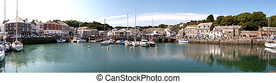 overview in Padstow