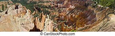 Overview of Bryce Canyon