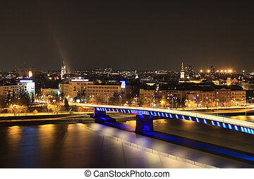 Overview on the city of Novi Sad in Serbia