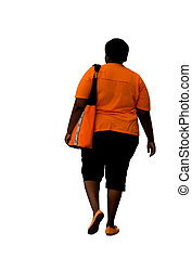 overweight african american