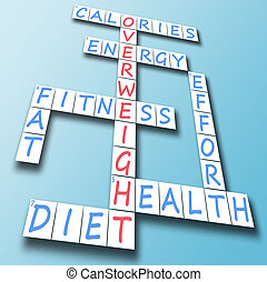 Overweight on crossword