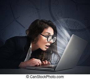 Overwork for a nerd
