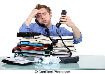 overworked, funcionário público
